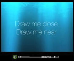 Draw Me Close (Draw Me Near) - Destinysong
